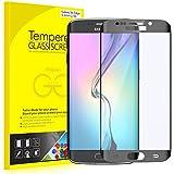 S6 Edge Protection écran, Rankie Protection en Verre Trempé écran Protecteur ultra résistant Glass Screen Protector pour Samsung Galaxy S6 Edge (Noir)
