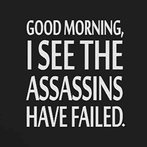 The Assassins have failed - Stofftasche / Beutel Blau