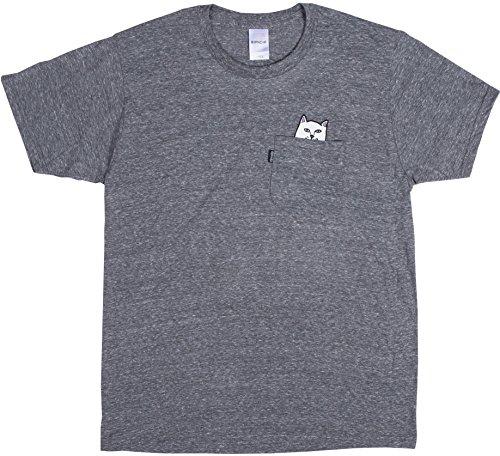 Herren T-Shirt Rip N Dip Lord Nermal Pocket T-Shirt green wash