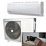 12000 BTU Panasonic Powered Quick Connector Wall Mounted DC Inverter Air Conditioner with 4 metres pipe kit - Wall Mounted Air Conditioning Unit with 5 years warranty