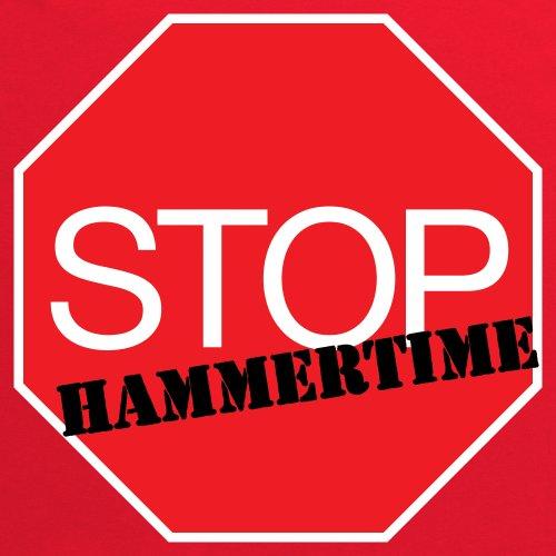 Stop! Hammertime T-Shirt, Herren Rot