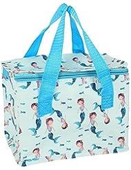 Mermaid Lunch Bag Cool Box Snack Sandwich Picnic Insulated Kids Break Fun For Her Sea Fish