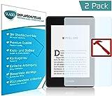 Slabo 2 x Premium Pellicola Protettiva in Vetro Temperato Kindle Paperwhite 2018 (10. Generation) Pellicola Protettiva Schermo Tempered Glass Crystal Clear - Graffi Fino a 9H