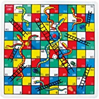 Urban Festivities 2 in 1 Ludo and Snakes & Ladder Board Games for Friends Family Kids