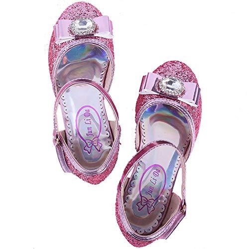 Zhongsufei Prinzessin Schuhe Sparkle Rapunzel Schuhe Prinzessin Schmetterling -