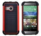 G-Shield Hülle für HTC Mini 2 Stoßfest Schutzhülle - Rot