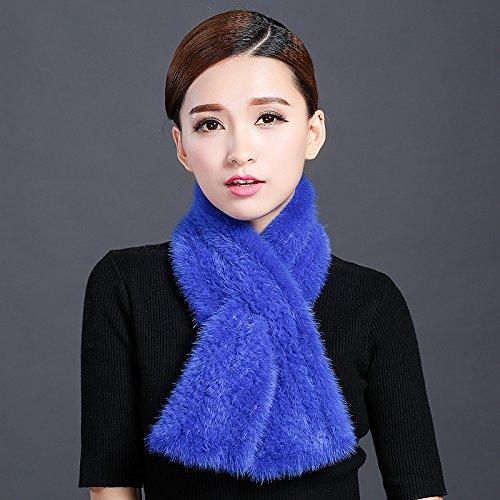 feieb Bavaglia sciarpa inverno visone cravatta di