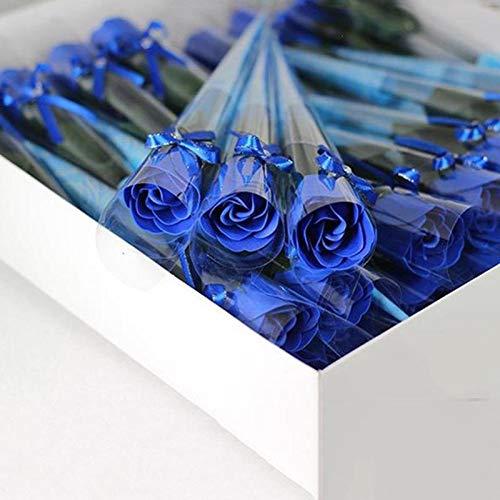 Wenquan,Pétalo perfumado Flor jabón Rose 1Pc Casarse