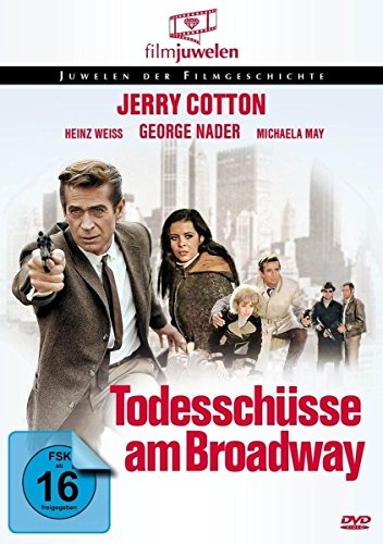 Jerry Cotton - Todesschüsse am Broadway (Filmjuwelen) [DVD]
