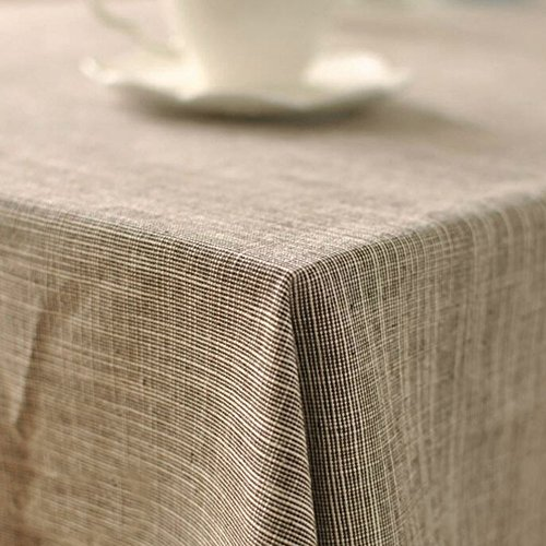 ... AIHOME™ Cotton U0026 Linen Tablecloth Japanese Art Simple Style Solid Plain  Color Dining Table Cloth