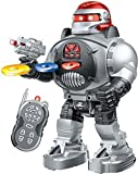 #7: Babytintin™ Walking Robot with Fires Discs, Dances, Talks - Super Fun Robot Multi Color