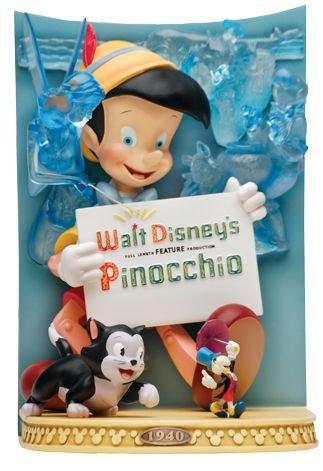 Disney Showcase Collection Pinocchio Statuette résine Poster 3D 26 cm