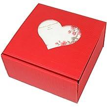 Danto Holz-Geschenkbox Herz-Bilderrahmen Valentinstag