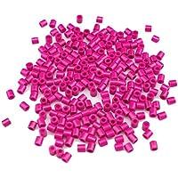 Comparador de precios DIY Platic Perlen, Minkoll 1000 Teile/los 5 mm DIY Pazzle Handwerk Spielzeug für Kinder Kinder Pädagogisches (Rosa) - precios baratos