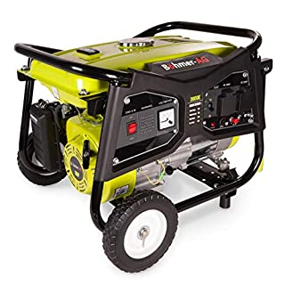 Böhmer-AG Electric Key Start Generator 3000w 3.8KVA 4 Stroke Petrol 8HP WX3800E