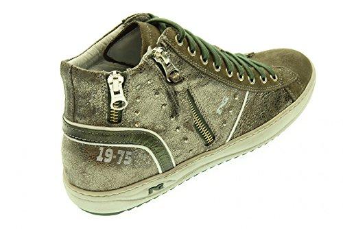 NERO GIARDINI donna sneakers alta A513484D/103 Antracite