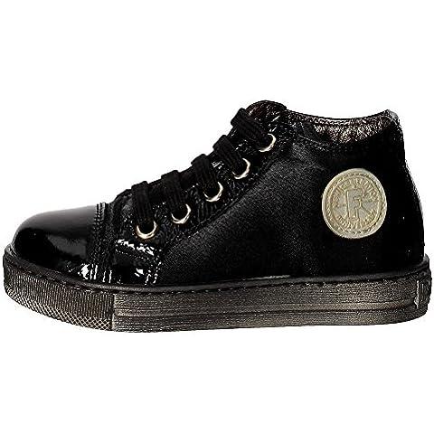 Falcotto JERRY NAPLAK/RASO Sneakers Bambina Vernice Nero