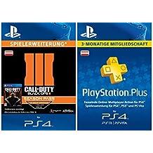 Call of Duty: Black Ops III-Season Pass [Spielerweiterung] + PS Plus Mitgliedschaft 3 Monate [PSN Code für österreichisches Konto]