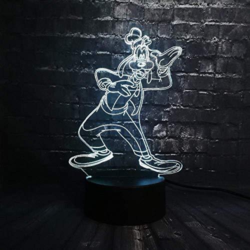 Nachtlicht Nette 3D Cartoon Led 7 Farbwechsel Nachttischdekoration Usb Fernbedienung Lade Meter Stimmung Nachtlicht Kinder Geburtstagsgeschenk Spielzeug (Stimmung Meter)