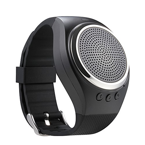 efanr RS09Smart Bluetooth-Armband Schrittzähler Fitness Activity Tracker Musik Player Lautsprecher mit SD Card Slot für iPhone IOS Android Smartphones Htc Desire 510 Handy-speicherkarte