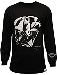 Diamond Supply Co Diamond Cut LS T-shirt Black