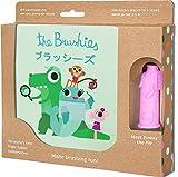 Baby und Kleinkind Zahnbürste und Storybook–Team Mitglied: Pinkey The Pig.