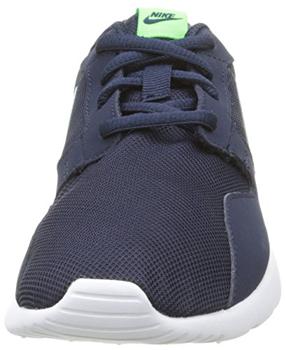 Nike Kaishi Gs, Baskets Basses Mixte Enfant Bleu (Obsidian/Voltage Green-White)