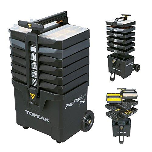 Topeak PrepStation Pro Fahrrad Reparatur Werkzeug Werkstattwagen