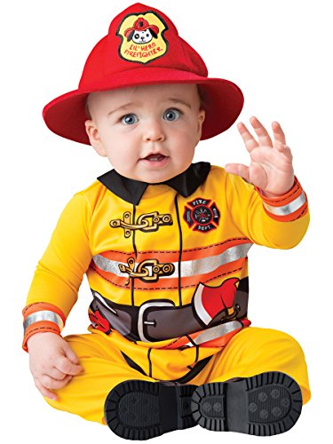 Fireman - 6-12m (Kostüme Für Dress Babys Fancy Cute)