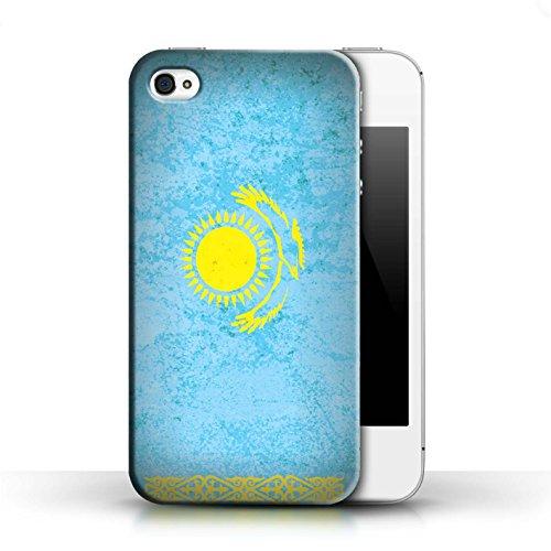 Stuff4 Hülle / Case für Apple iPhone SE / Usbekistan/Usbekistan Muster / Asien Flagge Kollektion Kasachstan