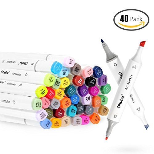 ohuhu-40-colours-dual-tips-art-sketch-twin-marker-pens-with-carrying-case-for-painting-coloring