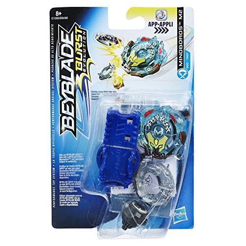 Hasbro Beyblade Burst E1060ES0 Starter Pack S2 Minoboros M2, Kreisel
