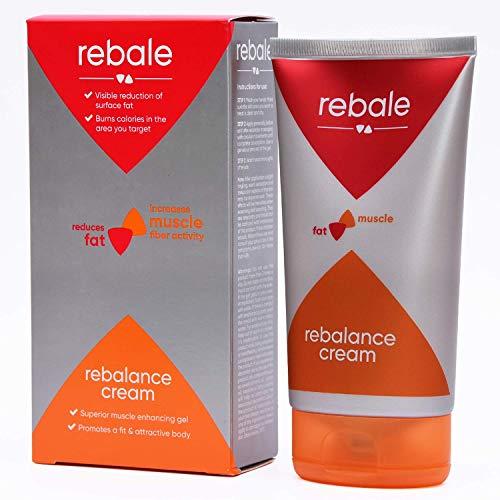 Rebale Rebalance Cream Crema Anticellulite 150ml | Crema Corpo Rassodante per Favorire l'Attività Muscolare | Crema Gel Snellente Perfetta Pre e Post Allenamento