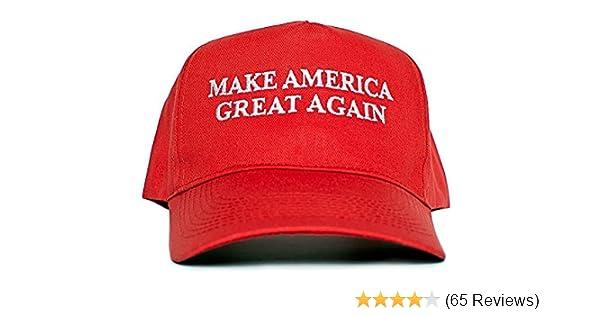 RED DONALD TRUMP USA AMERICA YELLOW WIG MAKE GREAT AGAIN BASEBALL CAP TIE FANCY