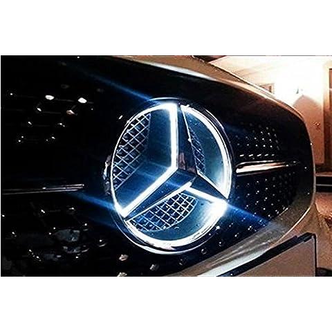 Estrella de Mercedes Benz con iluminación led blanca para Mercedes-Benz AC E CLS