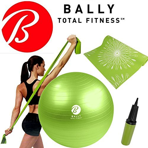 bally-fitness-yoga-wellness-kit-65cm-ball-pump-excercise-opaco-stretch-resistance-band-by-bally