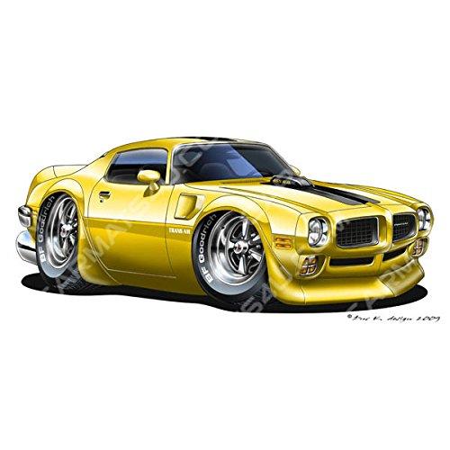 pontiac-firebird-trans-am-vinyl-wall-art-sticker-yellow