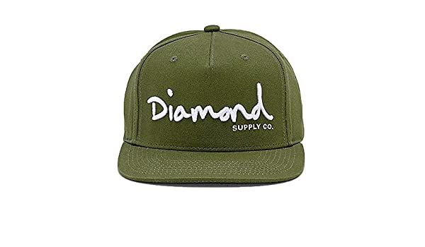 d18245d8f2a OG Script Structured Snapback - Military Green Military Green   Amazon.co.uk  Clothing