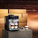 Siemens EQ.6 Plus s700 TE657503DE Kaffeevollautomat (1500 Watt, Keramik-mahlwerk, Touch-Sensor-Direktwahltasten, personalisierte Getränke, Doppeltassenbezug) edelstahl Vergleich