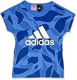 adidas Mädchen YG Linear P Tee Hemd
