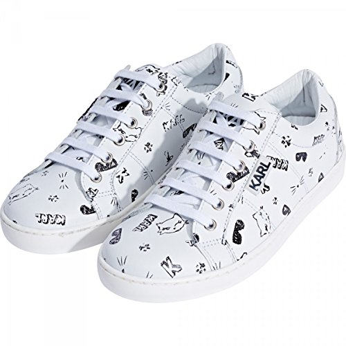 KARL LAGERFELD - Sneakers blanches - Bianco, 34