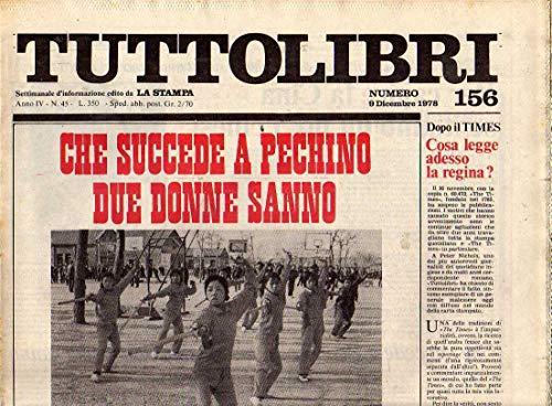 Tuttolibri n. 156 del Dicembre 1978 Marx, Dante, Edoarda Masi, Castoriadis