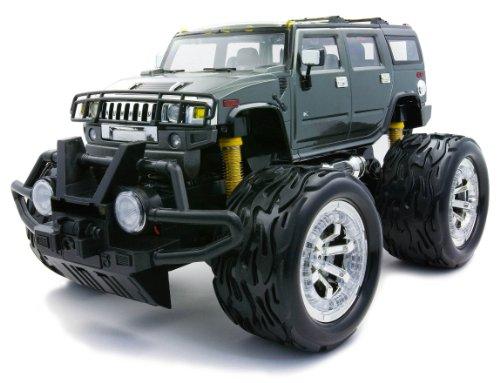 RC Big Foot 1/16 Hummer H2 Gray (27MHz/AD) (japan import)
