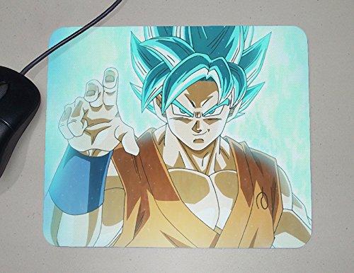 Preisvergleich Produktbild Super Sayian God - Dragon Ball Z - Japanese Anime - Novelty Gift - Custom Name Mouse Pad