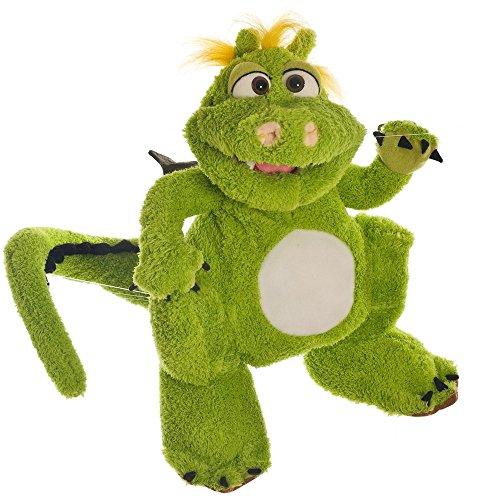 Drache Handpuppe (Living Puppets Handpuppe Filippo der Drache 35 cm)