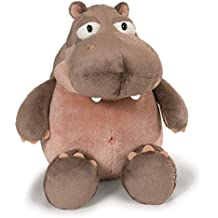 Nici - Peluche Hipopótamo Balduin 25 cm, color light brown/light pink (38620)