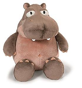 NICI - Peluche Hipopótamo Balduin 45 cm, Color Marron Claro/Rosa (38626)
