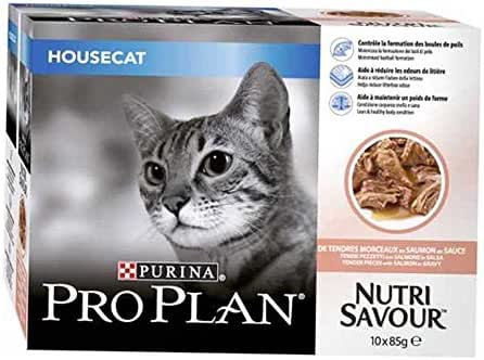 Proplan : Sachet Pplan Housecat : Saumon 85 G
