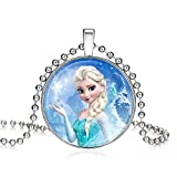 Best Necklace For Kids - Frozen Elsa Princess Necklace for Girls Kids | Review