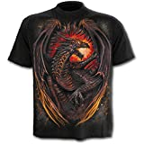 Spiral Dragon Furnace T-Shirt schwarz S